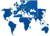 Eurologos offices map